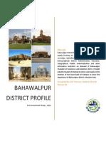 Bahawalpur District Profile 2013