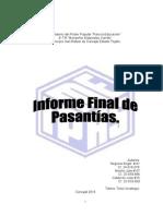 Informe de Final de Pasantias IPASME