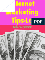 Internet Marketing Tips-Let - by Catherine Simmons - FREE Download
