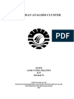 Laporan Analisis Cluster