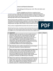 Science Panel Overall Summary Statements