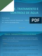 Análise, Tratamento e Controle de Água