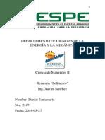 Resumen Polimeros Dsc