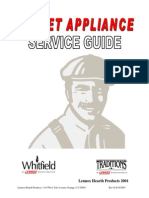 Pellet Stove T300P Tech Manual
