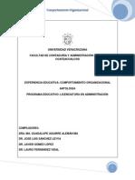 LECTURA - Comportamiento Organizacional