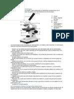 Partes Esenciales de Los Microscopios