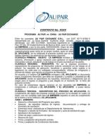 Contrato a Firmar Con Au Pair Exchange Argentina