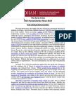 The Syria Crisis - IIHA News Brief