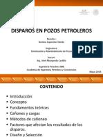 Disparos en Pozos Petroleros Presentación