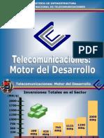 Proyectos en TelecomunicacionesVenezolanas
