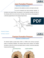 Fracture Formation Pressure