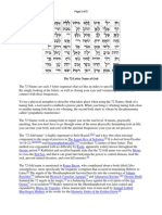Primer on the 72 Letter Name of God and the Tree of Life