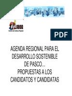 Agenda Regional
