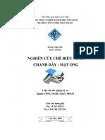 Luận Văn Nghiên Cứu Chế Biến Nước Chanh Dây - Mật Ong - Tài Liệu, eBook, Giáo Trình