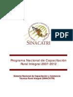 Programa Nal Cap Rural Int2007-2012