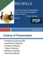 Presentation on Listening Skills