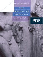 Joseph Roisman-The Rhetoric of Manhood_ Masculinity in the Attic Orators-University of California Press (2005)