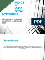 Factibilidad de Costos en Proyectos de Construccion Sostenible