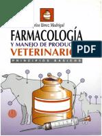 Farmacologia y Manejo de Productos Veterinarios