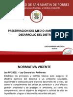 Preservación Del Medio Ambiente y Desarrollo Del Distrito