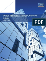 India Office Property Market Overview- July 2014