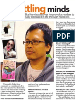 Interview with The Sun (Eka Kurniawan)