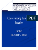 Conveyancing Law and Practice