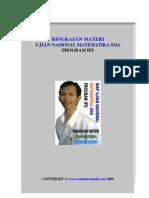 Ringkasan Materi Program IPS