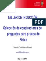 Taller Inducción Física