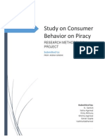 Digital Piracy - A research project