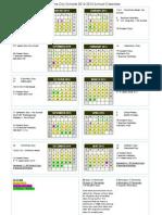2014-2015 school calendar