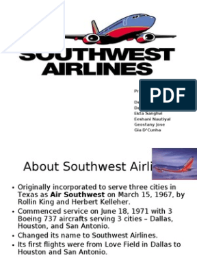 southwest airlines operations strategy essays