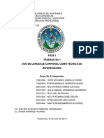 Uso Del Lenguaje Tema 1 Grupal No. 6