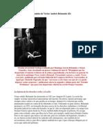 El Pensamiento Peruanista de Víctor Andrés Belaunde