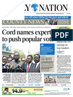 Daily Nation July 23rd 2014