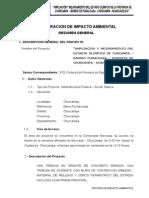 DECLARACION IMPACTO AMBIENTAL