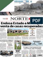 Periódico Norte edición del día 23 de julio de 2014