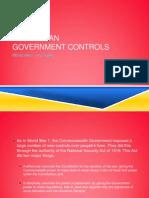 government controls