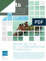 Bilan tourisme 2013