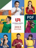 URC 2013 Annual Report