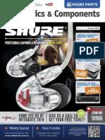 Issue 103 Radio Parts Newsletter - August 2014