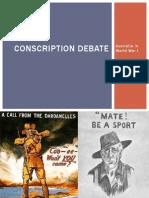 conscription debate