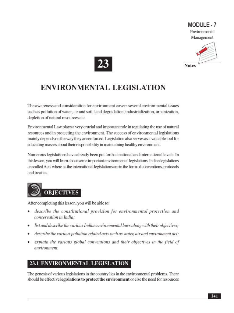 Environmental Legislation | United Nations Framework Convention On Climate  Change | Environmental Law