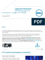 SQL Server Management Perfected - Ensuring Database Performance in the Face of Today's IT Trends