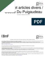 -Du Puigaudeau, Odette (1894-1991)