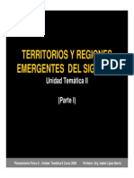 PF II -B L L- UT2 Parte 1 Territorios y Regiones Emergentes Del Siglo XXI