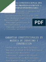 Garantias Constitucionales en Mat de Obras