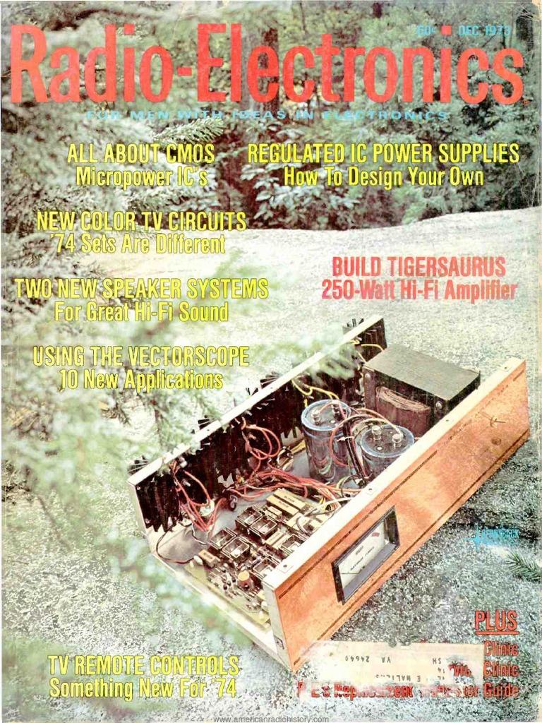 Re 1973 12 Phonograph Resistor China Tv Circuit Diagram 8211 Original Datasheet