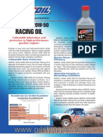 AMSOIL 20W-50 Racing Oil buy at www.oilshopper.com