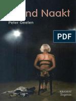 Zittend Naakt - Peter Geelen